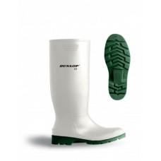 Бели водоустойчиви ботуши PVC с нитрилна проивоплъзгаща подметка